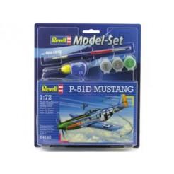 Revell Mustang P-51D Modelset