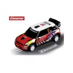 Carrera Racebaan Auto Mini Cooper Countryman WRC Daniel Sordo No.37
