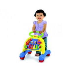 Fisher-Price V3254 Muzikale Loopwagen