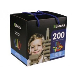 BBlocks Kleur in Kartonnen Doos 200-delig