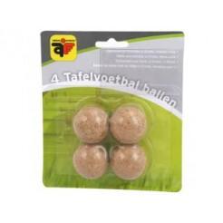 Engelhart Tafelvoetbalballen 31mm 4x Kurk