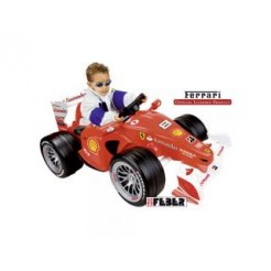 Feber Ferrari F1 Accu Raceauto 6V