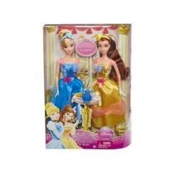 Disney Princess Belle en Cinderella Tienerpoppen