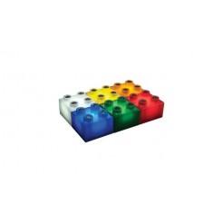 Light Stax LS-M04007 Uitbreidingsset 6 Gekleurde Stax