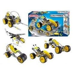 Meccano 7in1 Multi Cars 190-delig