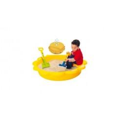 Paradiso Toys Gele Zandbak / Zwembad Zon 114x26cm
