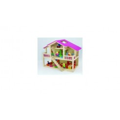 Pintoy Star Loft Dolls House Poppenhuis