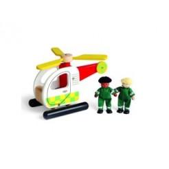 Pintoy Helicopter met Twee Broeders
