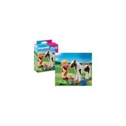 Playmobil 5291 Meisje + Pony