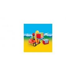 Playmobil 123 6959 Vorklift met Lading