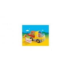 Playmobil 123 6960 Vrachtwagen met Laadklep