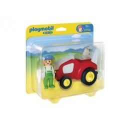 Playmobil 123 6794 Tractor met Boer