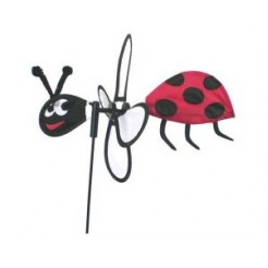 Rhombus Windspel Ladybug Small Windwijzer
