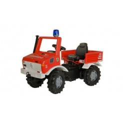 Rolly Toys 036639 RollyFire Unimog Brandweer Trapauto