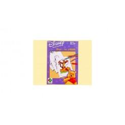 Selecta Winnie de Pooh Kleur/Prikblok