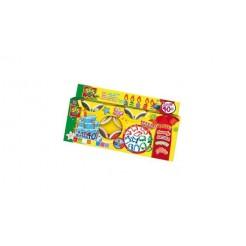 SES 00498 Super Klei 8 Potjes van 90 gram