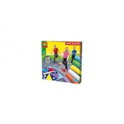 SES Creative 02242 Twist & Jump Stoepkrijt Spel
