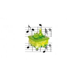 Simply for Kids Houten Muziekdoos Kikkertjes