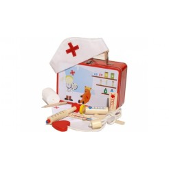 Simply for Kids Metalen Dokters Koffer