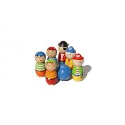 Simply for Kids 22107 Houten Kegelspel Piraten