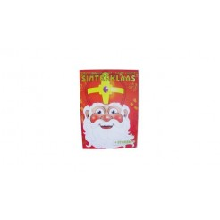 Sinterklaas Kleur/Stickerboek A4