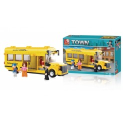 Sluban M38-B0507 Schoolbus 219-delig