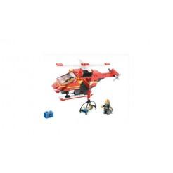 Sluban Fire Alarm M38-B0218 Brandweer Helikopter 155-delig
