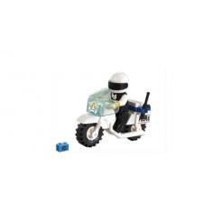Sluban City Police M38-B1100 Politiemotor 23-delig