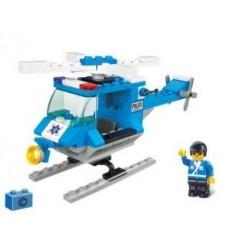 Sluban City Moters M38-B0175 Politie Helikopter 85-delig