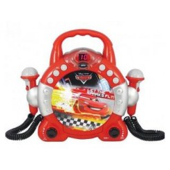 Soundmaster Disney Cars CCD-45 Sing-a-Long CD Speler met 2 Microfoons
