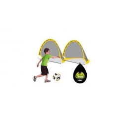SportX Pop-Up Voetbal Goal Set
