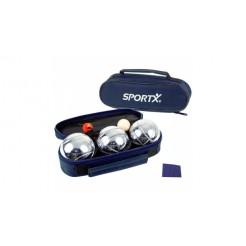 SportX Jeu De Boule Set in Tas