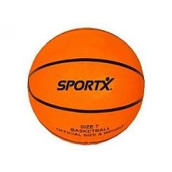 SportX Basketbal Orange Onopgeblazen 24cm