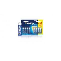 Varta 4903 so Batterij Alkaline Aaa/lr03 1.5 V High Energy 6+2-blister