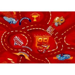 Disney Cars Red Speelkleed 95x133cm