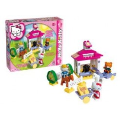 Hello Kitty Unico Manege 41-delige Bouwblokkenset