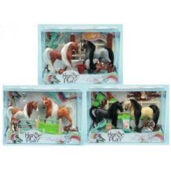 Horse Play Family Set Assorti