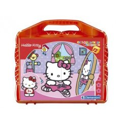 Hello Kitty Blokpuzzel 12-delig