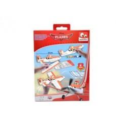Disney Planes Foam Vliegtuig 4x