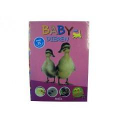 Dierenweetjes Babydieren + 35 Stickers
