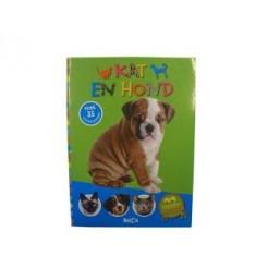 Dierenweetjes Kat + Hond + 35 Stickers