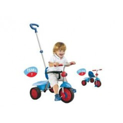 Smart Trike Fun Driewieler 2in1 Blauw