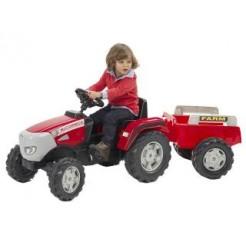 Falk MC Cormick Tractor + Aanhanger