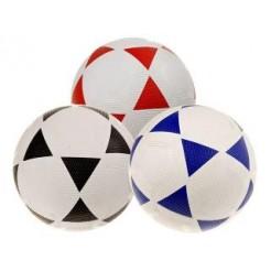 Voetbal 22cm 380gr nr.5 3 Assorti Onopgeblazen
