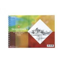 Toppoint Schetsboek A4 25vel 140gr
