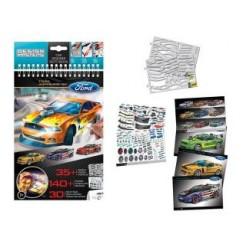 Design Masters Ford Mustung Schetsboek Set