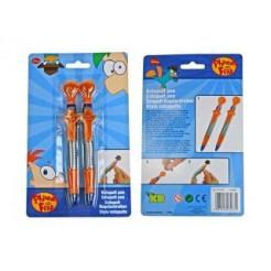 Phineas & Ferb Katapult Pen 2stuks
