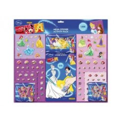 Disney Princess Mega Stickerset 500-delig