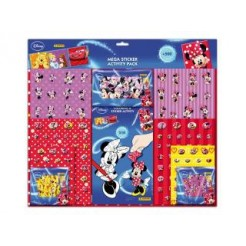 Disney Minnie Mouse Mega Stickerset 500-delig