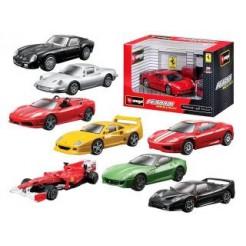 Burago 1:43 Ferrari Playset Assorti